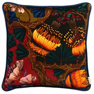 Klaus Haapaniemi Artemisia Absinthium Velvet X-Large Throw Pillow