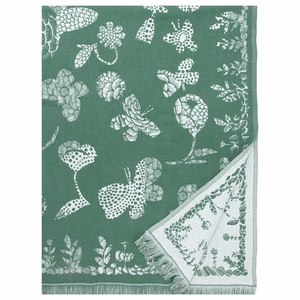 Lapuan Kankurit Aamos Aspen Green Blanket / Tablecloth