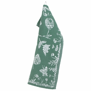 Lapuan Kankurit Aamos Aspen Green Tea Towel