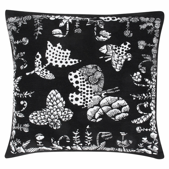 Lapuan Kankurit Aamos Black Throw Pillow