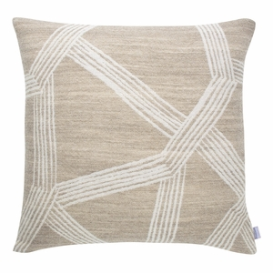 Lapuan Kankurit Himmeli Beige Throw Pillow