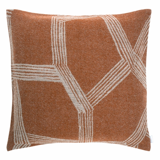 Lapuan Kankurit Himmeli Terracotta Throw Pillow
