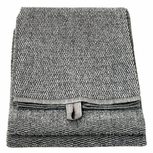 Lapuan Kankurit Meri Black Sauna Bath Towel