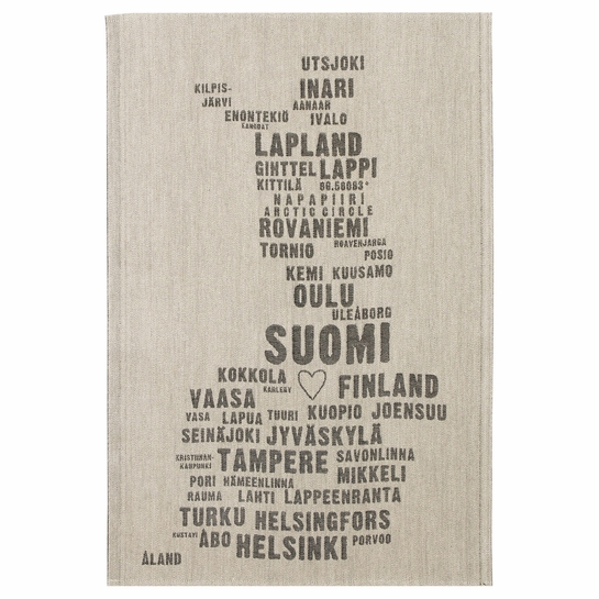 Lapuan Kankurit My Finland Tea Towel