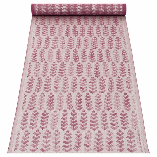 Lapuan Kankurit Ruusu x Hvittrask Burgundy Table Runner