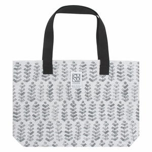 Lapuan Kankurit Ruusu x Hvittrask White / Grey Large Bag