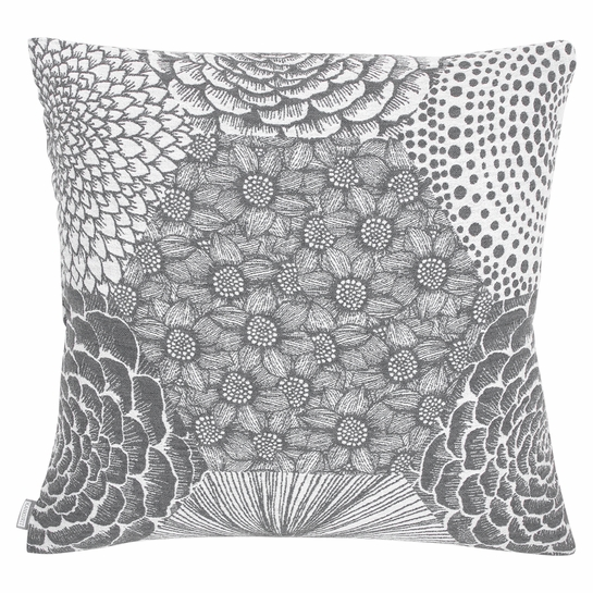Lapuan Kankurit Ruut Grey Throw Pillow
