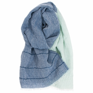 Lapuan Kankurit Tsavo Blueberry / Mint Scarf