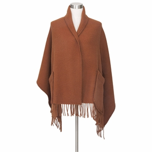 Lapuan Kankurit Uni Cinnamon Wool Pocket Shawl