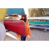 Lapuan Kankurit Uni Orange Wool Pocket Shawl