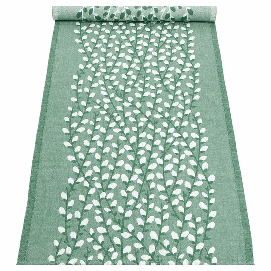 Lapuan Kankurit Varpu Aspen Green Table Runner