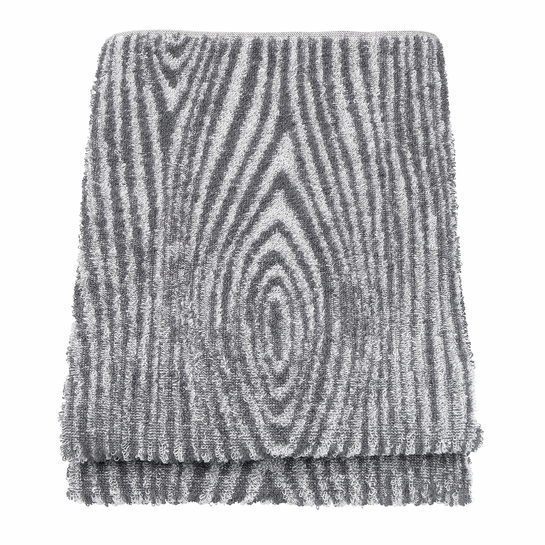 Lapuan Kankurit Viilu Grey Sauna & Bath Towel