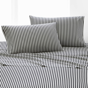 Marimekko Ajo Black King Pillowcase Set