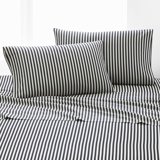 Marimekko Ajo Black Standard Pillowcase Set