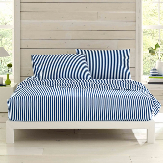 Marimekko Ajo White / Blue Sheet Sets