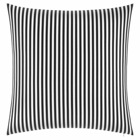 Marimekko Ajo White / Black Oversized Throw Pillow
