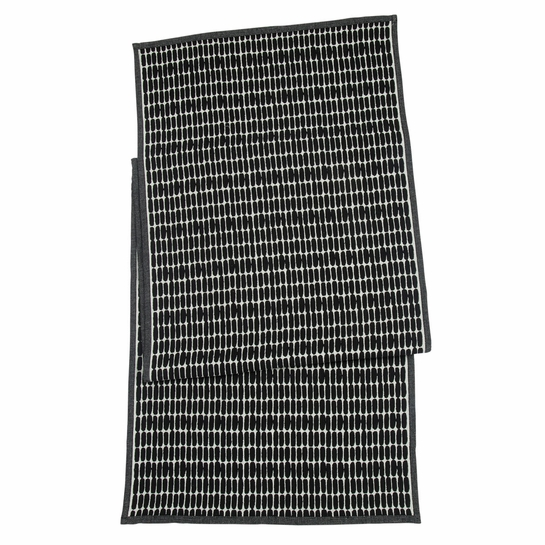 Marimekko Alku Ecru / Black Table Runner