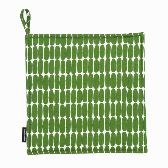 Marimekko Alku White / Green Pot Holder