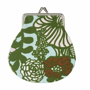 Marimekko Auringon Alla Blue / Green Coin Purse