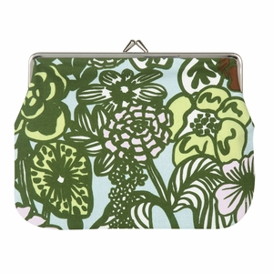 Marimekko Auringon Alla Blue / Green Large Coin Purse