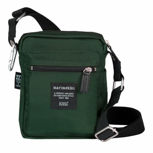 Marimekko Cash & Carry Dark Green Bag