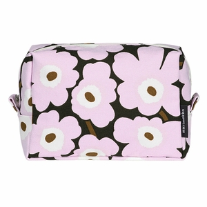 Marimekko Lilac / Brown Vilja Cosmetic Bag