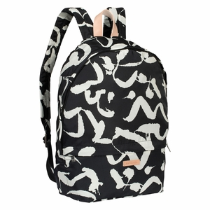 Marimekko Harha Black / White Mini Eira Backpack