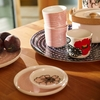 Marimekko Kaukokaipuu White / Red / Fuchsia Coffee Cup Set