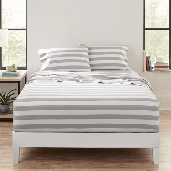 Marimekko Kesahelle White / Grey Sheet Sets