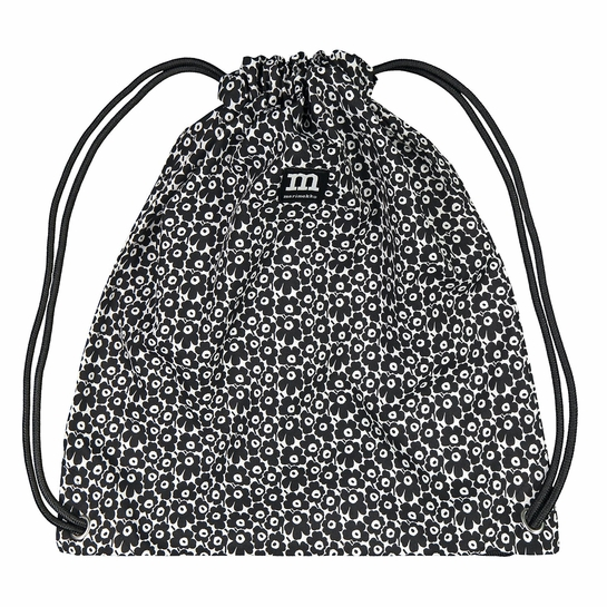 Marimekko Mini Unikko White / Black Smart Sack