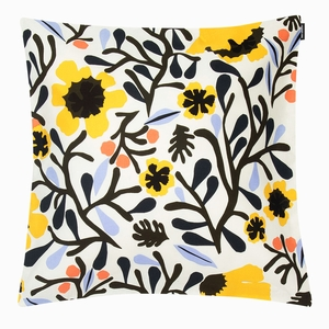 Marimekko Mykero Ecru / Multi Medium Throw Pillow