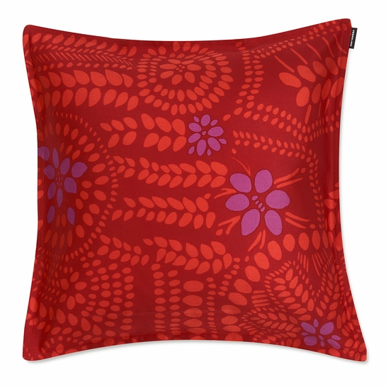 Marimekko Nasia Red / Violet Small Throw Pillow