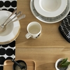 Marimekko Oiva Gold 10 Year Anniversary 8pc Dinnerware Set