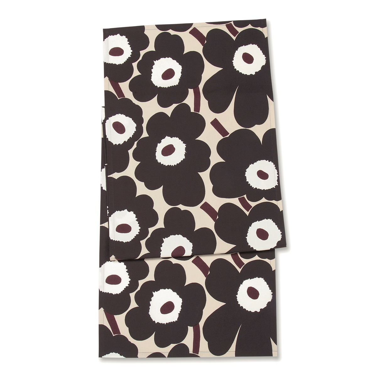 Marimekko Pieni Unikko Beige / Brown Table Runner