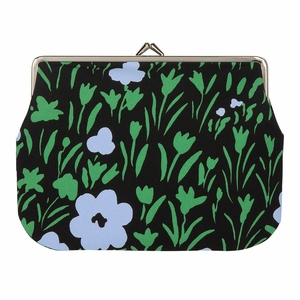 Marimekko Pikkulempi Black / Green Large Coin Purse