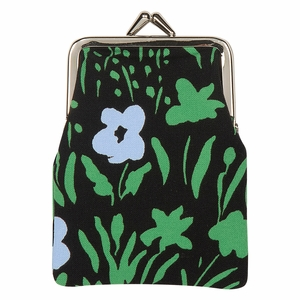 Marimekko Pikkulempi Black / Green Small Coin Purse