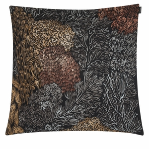 Marimekko Poronjakala Black Large Throw Pillow
