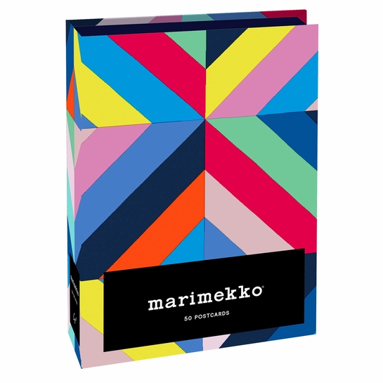 Marimekko Assorted Postcards -  Gift Box of 50