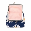 Marimekko Rakastaa Navy / White / Yellow Small Coin Purse