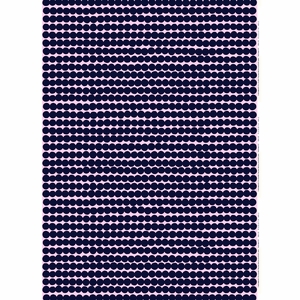 Marimekko Rasymatto Pink / Navy Acrylic-coated Cotton Fabric