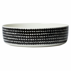 Marimekko Rasymatto White / Black Serving Bowl