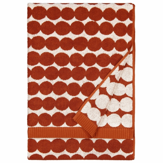 Marimekko Rasymatto White / Brown Bath Towel