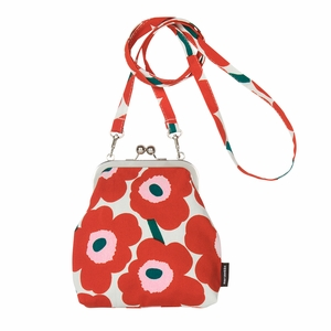 Marimekko Roosa Unikko Iovry / Red / Green Purse