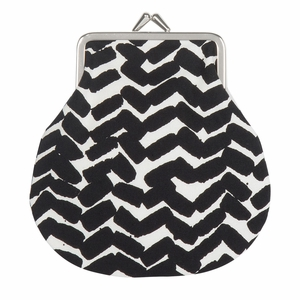 Marimekko Sahalaitaraita White / Black Coin Purse