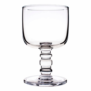 Marimekko Socks Rolled Down Clear Goblet
