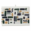 Marimekko Svaale White / Navy/ Green Tea Towel