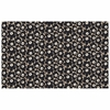 Marimekko Pieni Unikko Beige / Charcoal Acrylic-coated Cotton Fabric
