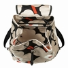 Marimekko Unikko Black / Beige / Orange Erika Backpack