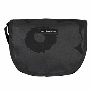 Marimekko Unikko Black Kerttu Shoulder Bag