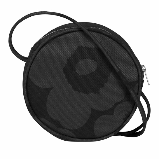 Marimekko Unikko Black Liia Shoulder Bag